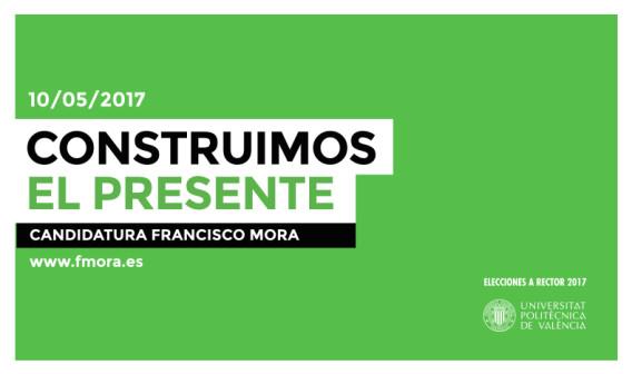 Diseño de Campaña Elecciones a Rector UPV 2017