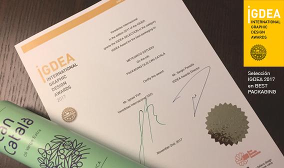 Selección Best Packaging de nuestro proyecto Olis Can Català