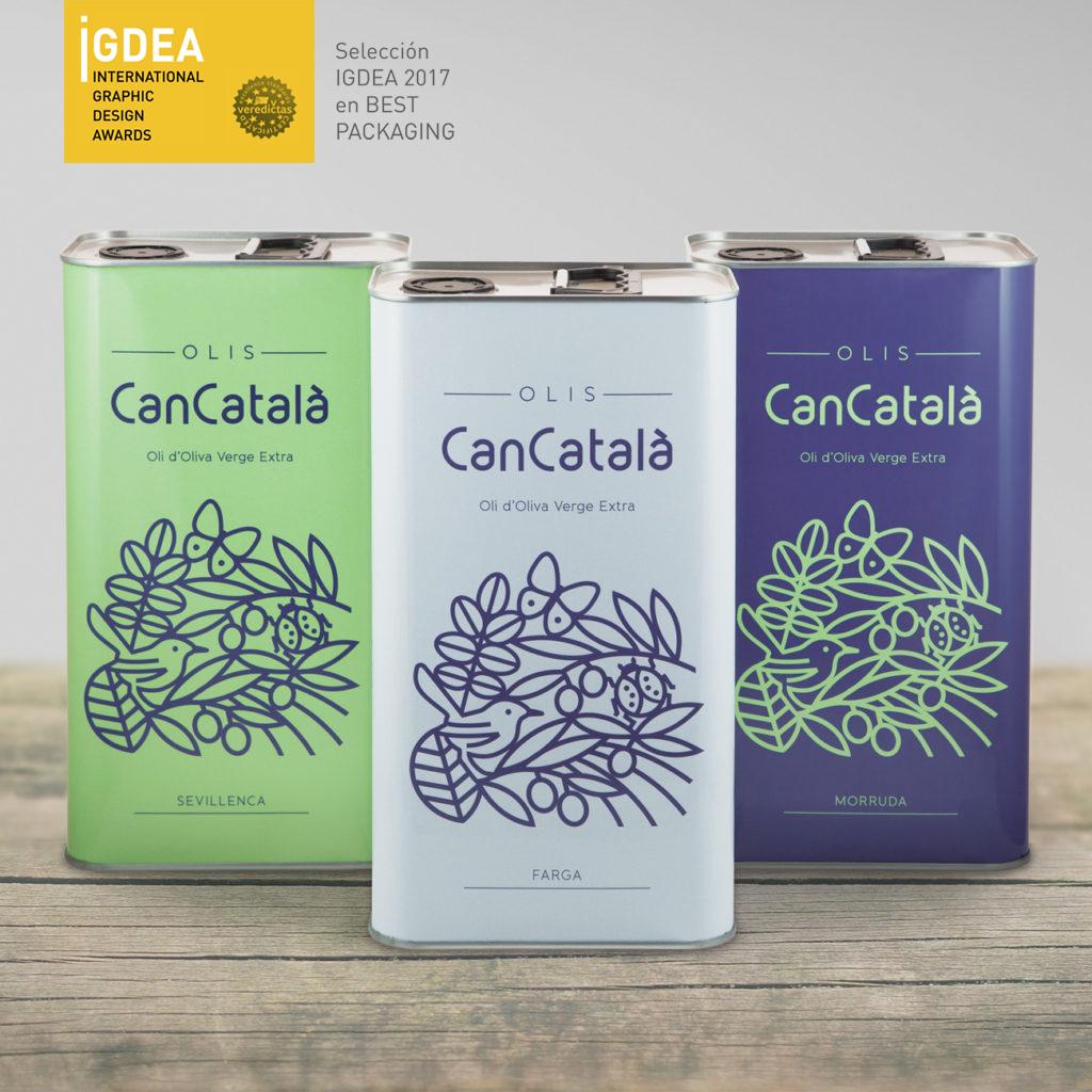Marca y Packaging Olis Can Català
