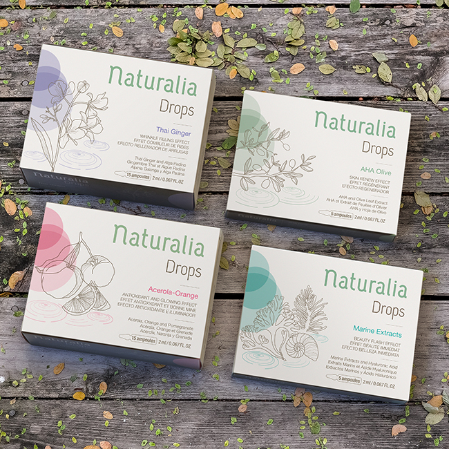 Marca y Packaging Naturalia Laboratories