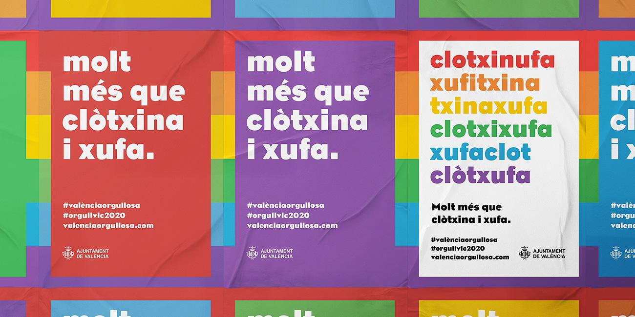 Campaña Orgullo LGTBI 2020 de València