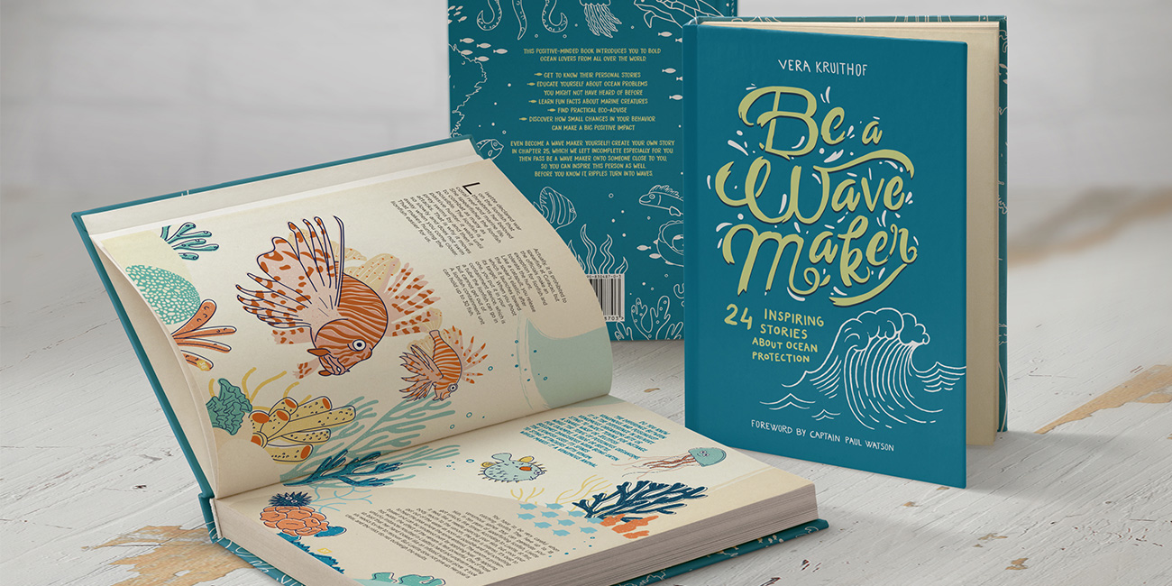 Libro Ilustrado Be a Wave Maker