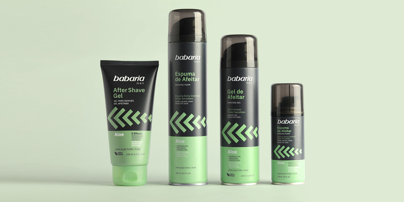 Rediseño Packaging Babaria Men